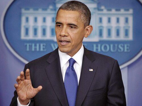 """Obama: """"Farò pittare di nero la Casa Bianca, non sopporto questa forma di razzismo""""."""