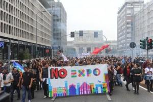 Manifestanti No Expo: Non abbiamo distrutto i padiglioni perchè erano ancora incompleti.